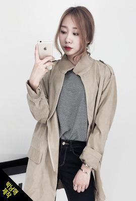 박남매)모스 큐브라롱야상