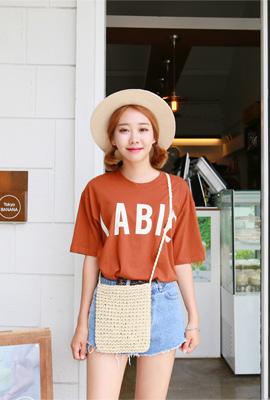 풀룻 반팔 티셔츠 (3color)