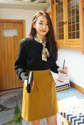 박남매) 보통연애 니트(3color)